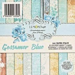 Sada papírů Gossamer Blue 15x15