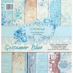Sada papírů 30,5x30,5 Gossamer Blue + bonus