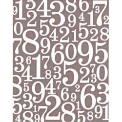 Embossovací kapsa - číslice