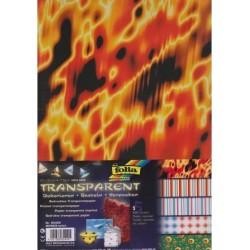 Sada Abstracta - 5ks transp.papírů (F)