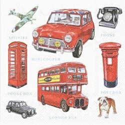 Symboly Londýna 33x33