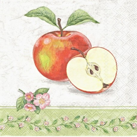 Jablko, bordura 33x33
