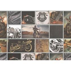 Fotokarton 300g - motorky A4