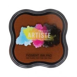 Razítkovací polštářek Artiste - tmavě oranžový