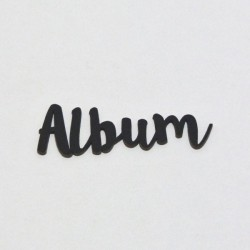Album (černý) - 1ks chipboards KETA