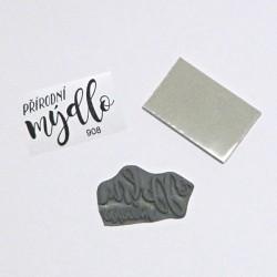 Přírodní mýdlo - gumové razítko KETA