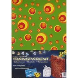Sada Kruhy - 5ks transp.papírů (F)