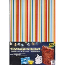 Sada Proužky - 5ks transp.papírů (F)