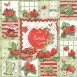 Sladké jahody 33x33