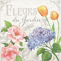 Fleurs du Jardin 33x33