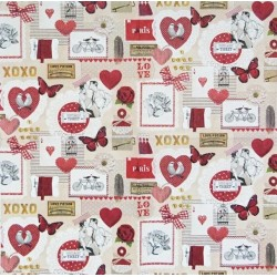 Love Ticket 33x33