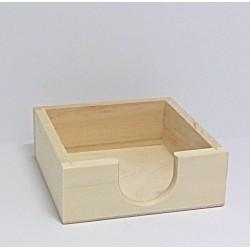 Krabička na poznámkové lístečky nebo podtácky