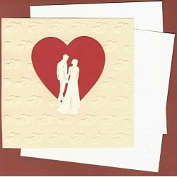 Set - polotovar přáníčka, Svatba 01