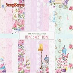 Sada papírů Home Sweet Home 15x15