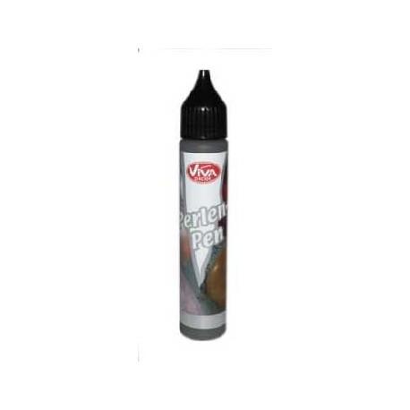 Perlen Pen - 25ml - Černá barva