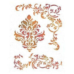 Šablona - Ornament a spirály