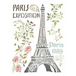 Šablona - Paříž 1889