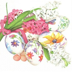 Kraslice a hyacinty 33x33