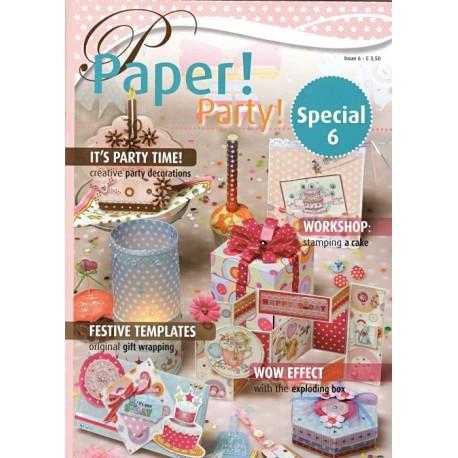 Speciál č.6 - časopis o tvorbě krajek z papíru