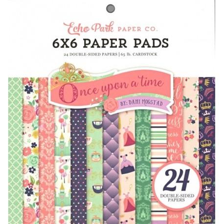 Sada papírů 15x15 Bylo, nebylo - čas princezen