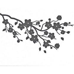 Embossovací kapsa - Třešňové květy