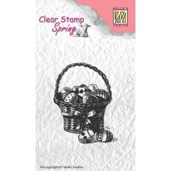 Transp.razítko Velikonoční košík (Nellie Snellen)