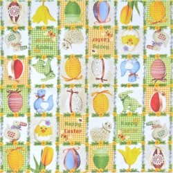Velikonoční patchwork 33x33