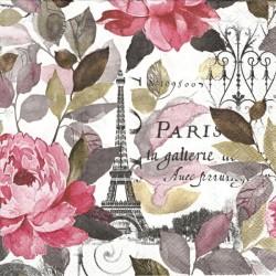 Jardin Paris pink 33x33