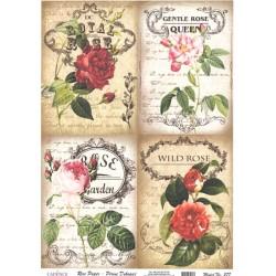 Rýžový papír A4 Royal Rose