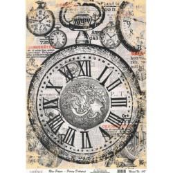 Rýžový papír A4 Chronométre