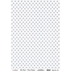 Rýžový papír A4 Šedé tečky na bílé