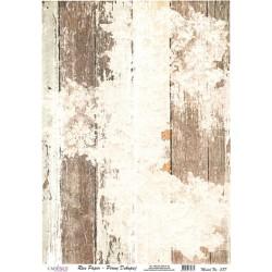 Rýžový papír A4 Dřevo s krajkou odřené