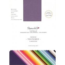 Sada papírů 75 barev, A6, 216gsm