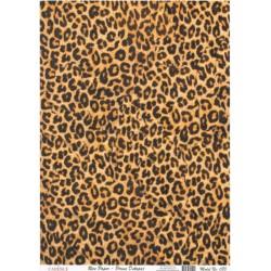 Rýžový papír A4 Kůže leopard