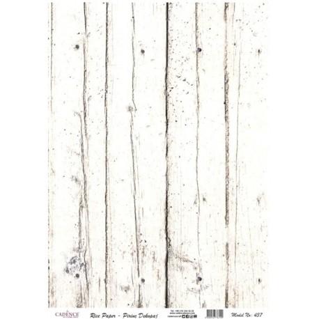 Rýžový papír A4 Bílé dřevo