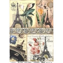Rýžový papír A3 Paris 1912