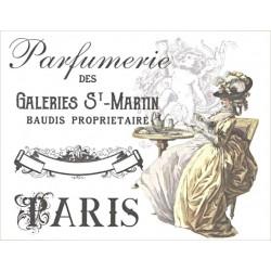 Transfer Cadence 25x35 - Parfumerie des Galeries (na textil)