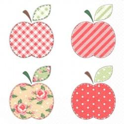 Jablíčka patchwork 33x33