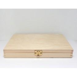 Krabička obdélníková nízká 27x21, kování