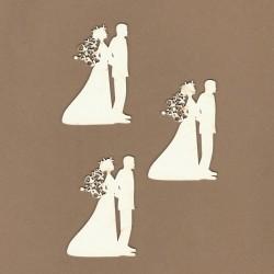 Novomanželé II. - 3ks chipboards