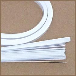 Set barevných proužků - bílý