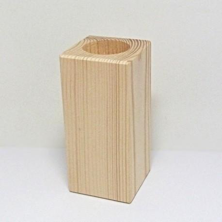 Dřevěný svícen nejvyšší (hranatý)