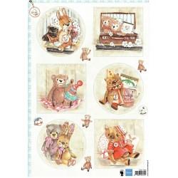 Papír A4 Teddy bears 2
