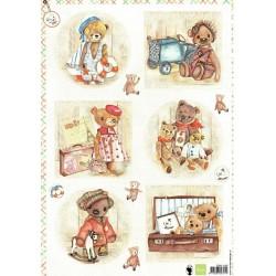 Papír A4 Teddy bears 1