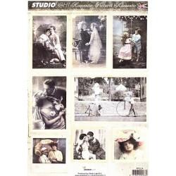 Papírové výseky A4 Romantic Picture nr.34 (SL)