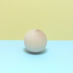 Dřevěná kulička 4cm