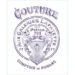 Šablona - Couture