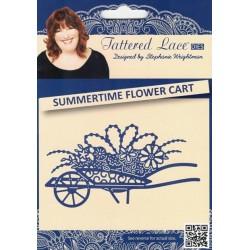 Vyřez.šablona Kolečko s květy Tattered Lace