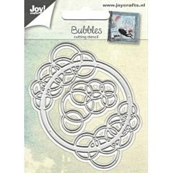 Vyřezávací šablony - Kruh s bublinami