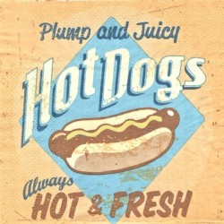Hot Dogs 33x33